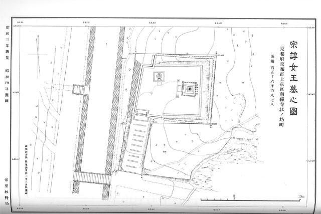 陵墓地形図集成
